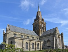 Calais (Pas-de-Calais) - Eglise Notre-Dame (des XIIIe, XIVe et XVe), au style Tudor (Morio60) Tags: calais pasdecalais 62 église notredame tudor
