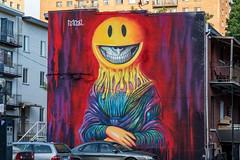 Ron English mural (Eileen NDG) Tags: june montreal mural ronenglish urban publicart streetart muralfestival plateaumontroyal