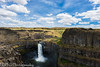 NT3.0091-WP170617_67102 (LDELD) Tags: palouse kahlotus washington palousefallsstatepark sunny clouds river canyon waterfall
