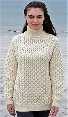 Aran Turtleneck honeycomb style (Mytwist) Tags: knitwear sweatergirl sweatergirls aran aranstyle aranjumper aransweater design designed dublin donegal heritage sweater style sexy wool woolfetish woman winter exclusive retro timeless traditional unisex irish outfit fashion fisherman female fuzzy girl grobstrick handgestrickt handcraft jumper jersey knitted knitting love laine cabled cozy classic vintage vouge viking bulky neck modern mytwist married oversized honeycomb turtleneck