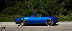 1994 Mazda Miata NA8 (bcuison) Tags: mazda miata mx5 eunos te37 volkwheels rays engineering recaro bridgestone potenza hard dog garagestar mossmiata sandiego fujifilm x100f fujilove