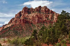 View Outside Zion National Park (Susan Roehl) Tags: nationalparkstour2017 zionnationalpark springdale utah usa rockformation mountain smithmesa zionoutbacksafaris sueroehl panasonic handheld lumixdmcgh4 outdoors landscape ngc