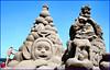 Topsy Turvy Sand Sculptures (Canis Major) Tags: westonsupermare sculptures sandsculptures radekzivny topsyturvy scale artworks