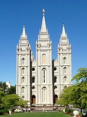 Salt Lake Temple, 1847-1893. (melystu) Tags: worship temple thetemple slc lds mormon big central important angle moroni