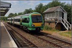 BR 171 724 te Rye station. (Jonathan Blokzijl) Tags: signalbox rye uk unitedkingdom train 171724 southern southernrailway