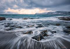 And then the Sun came through... (darklogan1) Tags: beach ocean water sea coast clouds waterscape tromso norway artic rocks logan darklogan1 travel
