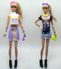 2017 Barbie Sporty Tribal fashion (kingkevin) Tags: misaki nipponmisaki frnippon crazy crazygirl barbie fashion fashionista fashionistas graphicdesign sporty tribal goals 59