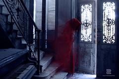 Last song (S.D.G Photographie) Tags: dark creepy sombre ghost fantom urban exploration red manoir abandoned fantôme photoshop
