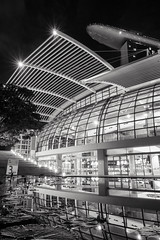 3km Mark (leadin2) Tags: x g5 g5x powershot canon 2016 singapore city tourism marina bay sands black white mall building mbs