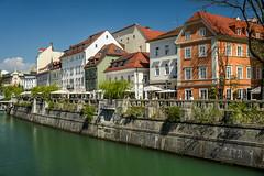 Ljubljana (Jorge Franganillo) Tags: ljubljana slovenia eslovenia liubliana río river ljubljanica