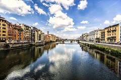the river (por agustinruizmorilla) Tags: river rio arno italy italia ponte vechio puente viejo firenze florencia morilla ruiz agustin