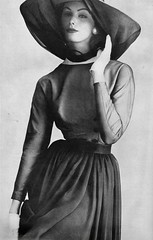 Vogue editorial shot by Irving Penn 1957 (barbiescanner) Tags: vintage retro fashion vintagefashion 50s 50sfashion irvingpenn vogue lucindahollingsworth