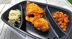 National Fried Chicken Day (cassaendra) Tags: national friedchicken coleslaw bakedbeans altonbrown recipe
