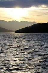 British Columbia ~ lovin' the light (karma (Karen)) Tags: canada britishcolumbia cruising hollandamerica magichour mountains seas clouds topf25