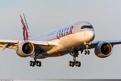 A350-900 Qatar Airways A7-ALA (Clément W.) Tags: a350900 qatar airways a7ala lfpg cdg