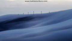 HODEIAK ORRAZTEN (Obikani) Tags: elgea elguea sierra álava araba euskadi molino mardenubes mountain windmill paisaje landscape cloudscape