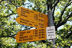 Wegweiser Geissberg / Chameren (uwelino) Tags: aargau swiss switzerland suisse swisstravel 2017 villigen geissberg wegweiser europa europe jura