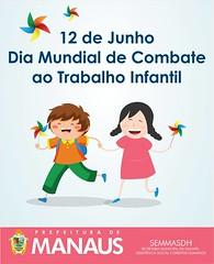 Chega de trabalho infantil (CesarArrais) Tags: 12dejunho combateaotrabalhoinfantil crianças brincando vetor vetorização desenho campanha prefeiturademanaus manaus amazonas