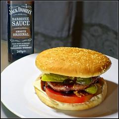Simple Life... (mike828 - Miguel Duran) Tags: hamburguesa burger salsa barbacoa jack daniels barbecue bbq sauce sony rx100 mk2 rx100ii rx100m2 simplelife