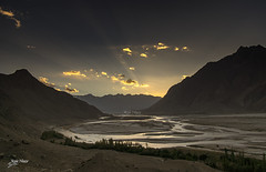Sunset at Indus River (Max Loxton) Tags: pakistan skardu gilgitbaltistan sunset indusriver beautifulpakistan travelpakistan shigar valley serene mountainsofpakistan yasirnisar yasirnisarphotography maxloxton maxloxtonfilms pakistaniphotographers