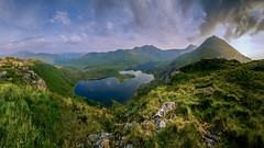 T H E - H O R N S (elganjones1) Tags: snowdonia snowdon wales cymru horns visit elgan jones mountains light sunset eryri