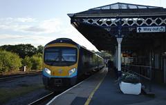 185149 Malton 09/07/2017 (Flash_3939) Tags: 185149 class185 dmu dieselmultipleunit transpennineexpress tpe new livery 1e22 malton mlt station fone rail railway train uk july 2017