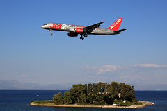 Jet2  Boeing 757-21B G-LSAI (widebodies) Tags: korfu corfu cfu lgkr widebody widebodies plane aircraft flughafen airport flugzeug flugzeugbilder jet2 boeing 75721b glsai
