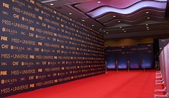 Events, Miss Universe, Wall Graphics