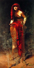 John Maler Collier (1850-1934) (Nicole Ameda) Tags: johnmalercollier delphi preraphaelite painting