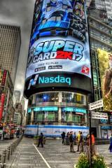 Nasdaq MarketSite (maaachuuun) Tags: nasdaqmarketsite timessquare broadway 43rdst newyork tonemapped stockmarket manhattan tonemap nyc nikond810