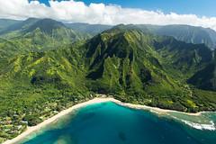 Na Pali Coast (Ben Haller) Tags: hawaii big island volcano national park lava kilauea kauai nkon d750 arial landscape nature waterfall