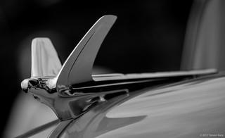 1950 Chevrolet Deluxe Hood Ornament, Eagle ©2017 Steven Karp