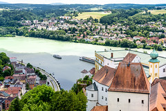 Passau - Drei Flüsse (juergen.treiber) Tags: passau inn donau ilz