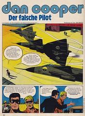 ZACK / 1977 Nr. 20 / Seite 30 (micky the pixel) Tags: comics comic heft koralleverlag zack albertweinberg dancooper pilot militär jet düsenjäger saabja37 viggen