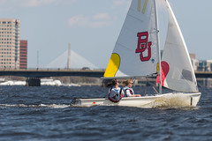 2017-04-16 Sailing at B.U. 008 (consolecadet) Tags: boston bostonuniversity cambridge charlesriver daily mollypleskus river sabrinavanmell sailing sports tufts watersports women womens