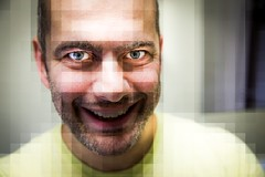 297/365 Pixel (christopher.czlapka) Tags: photo creative project365 pixelated pixel selfportrait portrait canon