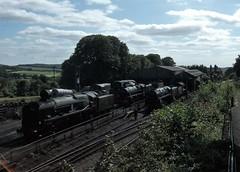 Ropley MHR 16/6/17 (Dave C1) Tags: 92212 30828 12049 wadebridge 925 cheltenham braunton 34046 34052 828