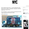 NYC Graffiti Trucks -- Nychos & more (LoisInWonderland) Tags: graffiti graffititruck arttruck nychos nyc publicart