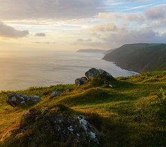 Summer Dawn, Foreland Point (EmPhoto.) Tags: exmoor forelandpoint sunrise dawn landscapepassion emmiejgee sonyzeiss2470mm wild scenic verywindy unspoiled unspoilt northdevon uk sonya7rm2