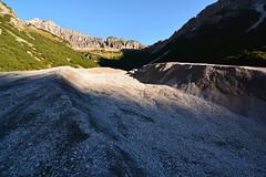 Feuer trifft auf Erde (a_f_photography) Tags: hinterhornbach sonnenaufgang geröll schotter muren scree grit brash lechtal