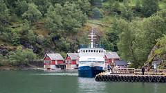 Lykkeper (neil.bulman) Tags: norway cruise scandanavia thomson landofthemidnightsun lykkeper flam boat aurlandsfjorden fjord thomsoncelebration flåm sognogfjordane no