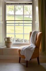 Nursing Chair (vesna1962) Tags: chair nursingchair nightdress jug window sashwindow antique view country interior stilllife