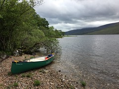 Loch Arkaig (What I saw...) Tags: hou canoe prospector camping camp wildcamping loch arkaig scotland highlands