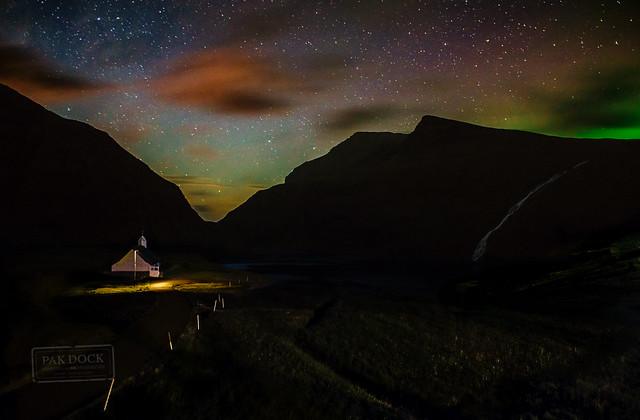 Late night at Saksun - Faroe Islands