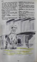Z comme Zouave (du Pont de l'Alma) (chando*) Tags: aquarelle watercolor croquis sketch