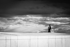 pairwise (desmokurt1) Tags: clouds wolken stone stein marmor opera oper bw sw norwegen norway hurtigruten kreuzfahrt cruise nordmeer atlantik postschiff bergen oslo wasser water fisch fish sturm storm scandinavia skandinavien kurtessler fuji fujixt1 xpro2 sea meer