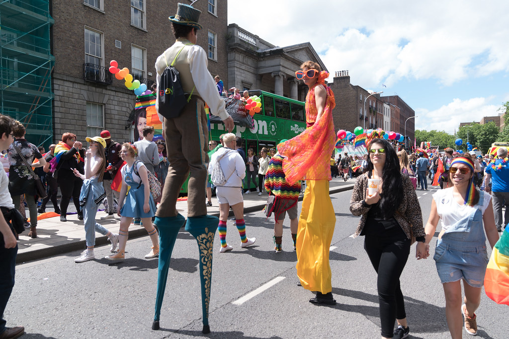 LGBTQ+ PRIDE PARADE 2017 [STEPHENS GREEN BEFORE THE ACTUAL PARADE]-129936