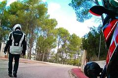 Selfie...💨 (carlesbaeza) Tags: selfie adventure advrider adventurerider bigtrail biker motobiker moto motorcycle motorrad travel yamaha xt1200z supertenere xladv dualsportlife dualsport
