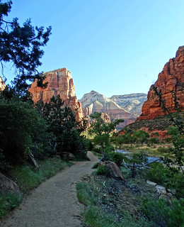 Trail to Angels Landing, Zion NP 2014