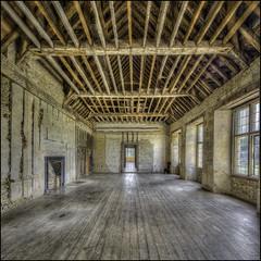 Kirby Hall interior 2 (Darwinsgift) Tags: kirby hall northamptonshire interior english heritage hdr photomatix nikkor 19mm f4 pc e nikon d810 photomerge
